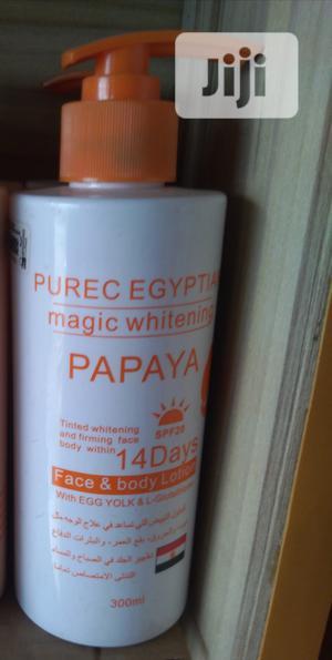 Purec Egyptian Magic Whitening Lotion Papaya | Skin Care for sale in Lagos State, Amuwo-Odofin