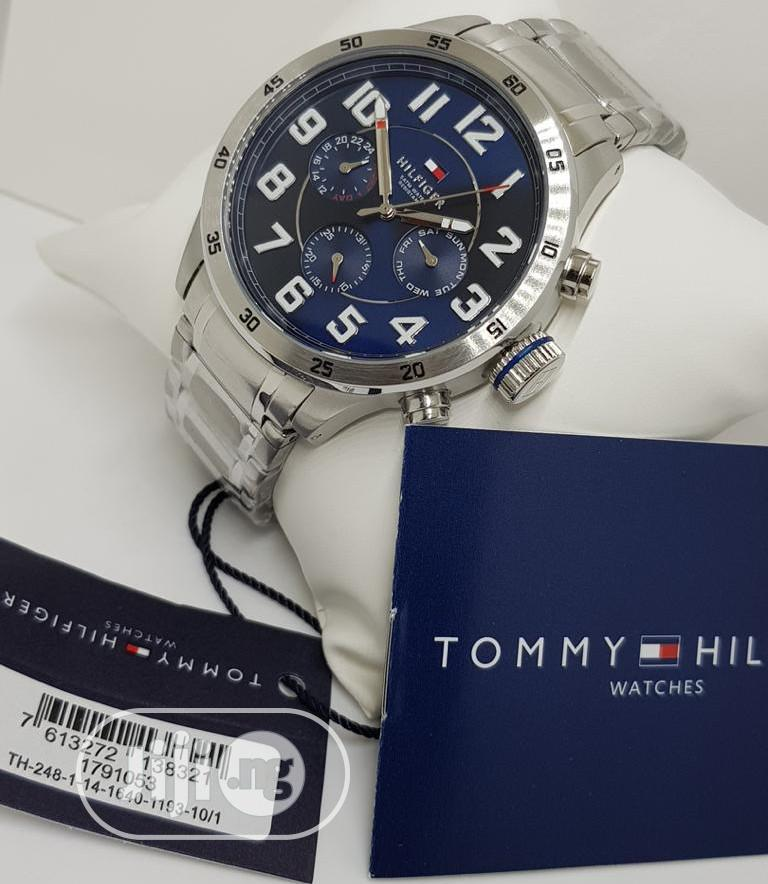 Best Quality Tommy Hilfiger Designer Time Piece | Watches for sale in Magodo, Lagos State, Nigeria