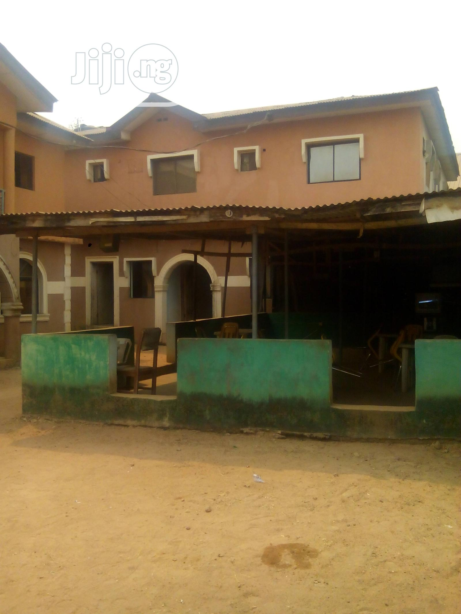Hotel Of 11 Rooms & Others At Akute Off Ojodu/Berg For Sale | Commercial Property For Sale for sale in Ifo, Ogun State, Nigeria