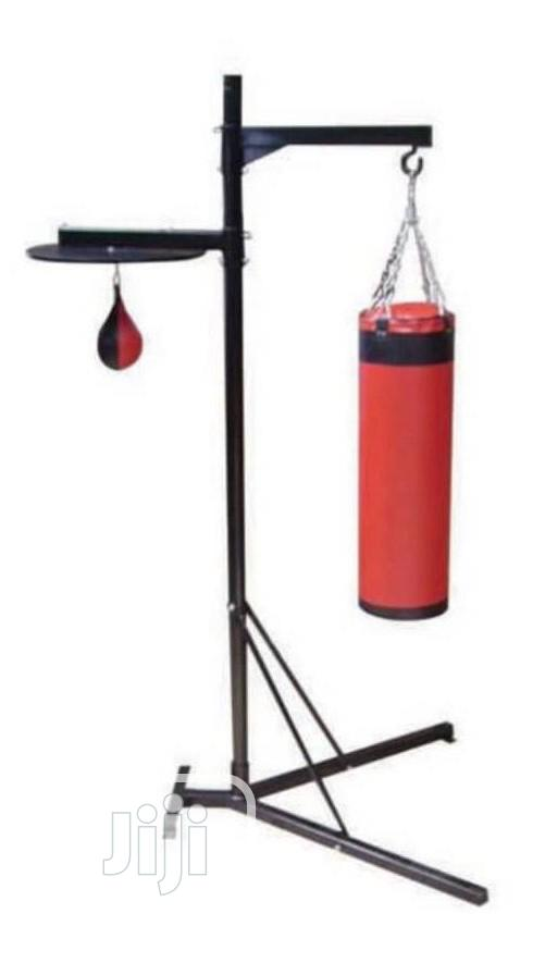 Puching Bag With Stand and Spinch Ball