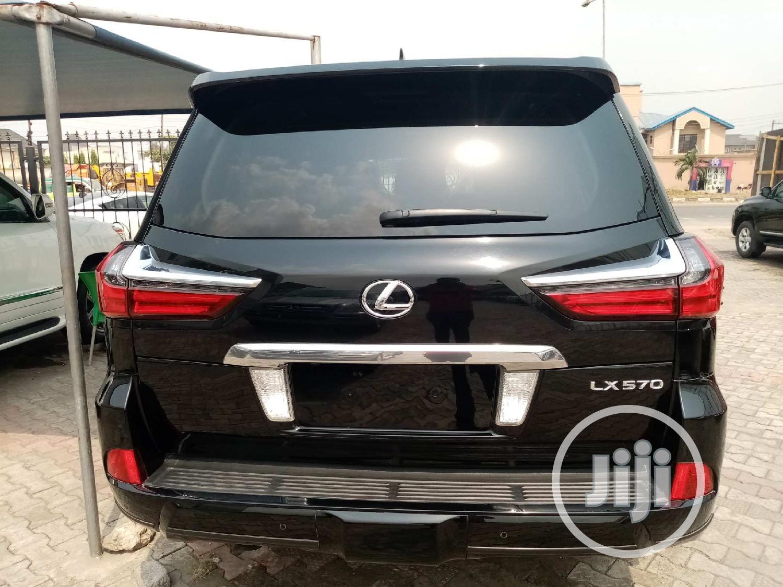 Lexus LX 2017 Black | Cars for sale in Apapa, Lagos State, Nigeria
