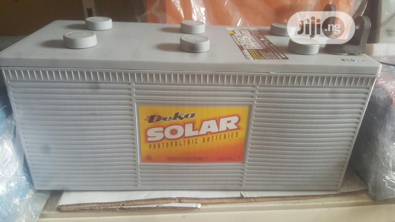 Archive: High Quality USA 12v 210ah Deka Inverter Battery