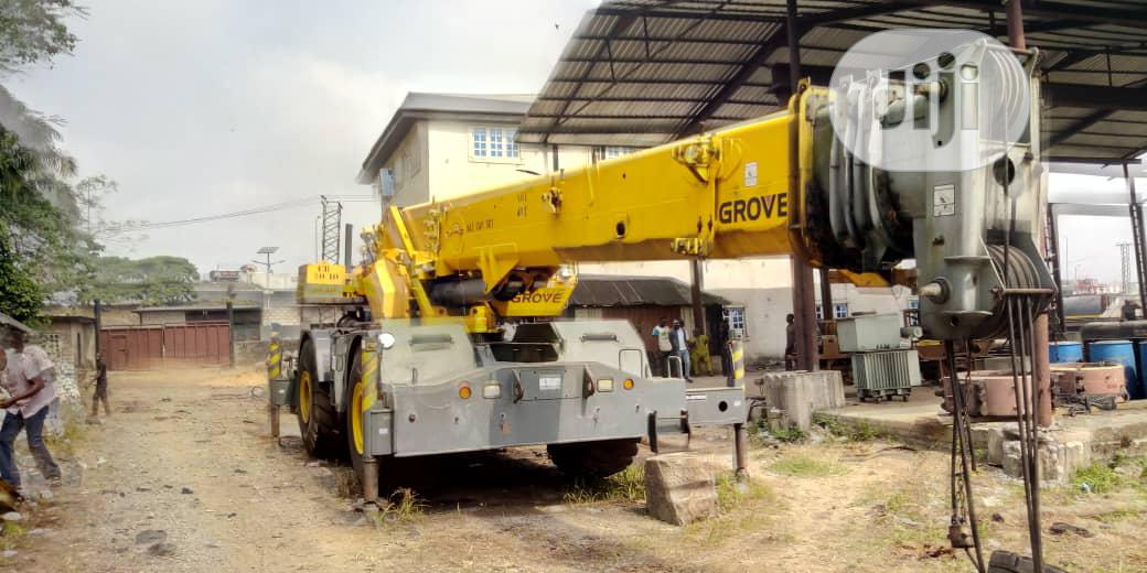 50ton's Grove Crane 2010 | Heavy Equipment for sale in Port-Harcourt, Rivers State, Nigeria