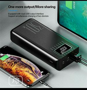 Super Fast Charging Power Bank LED Display 30000mah - Black | Accessories for Mobile Phones & Tablets for sale in Lagos State, Alimosho