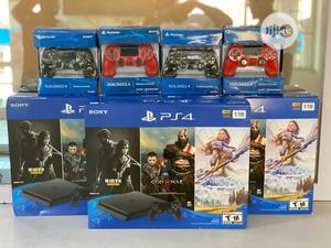 PS4 Slim 1TB With Extra Controller And Free Game Included   Accessories & Supplies for Electronics for sale in Abuja (FCT) State, Wuse 2