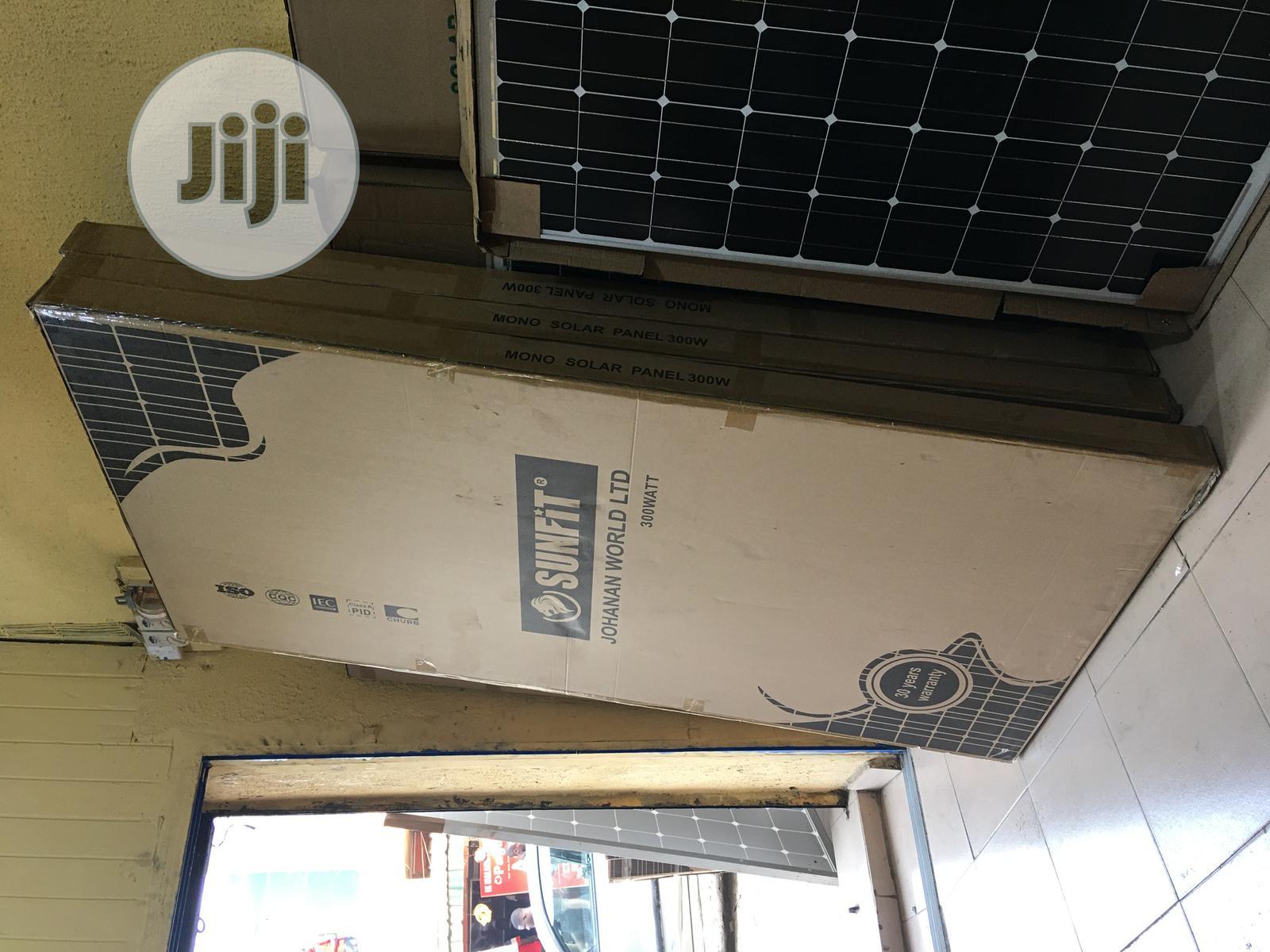 300watts 24/36volts Sunfit Solar Panel Mono