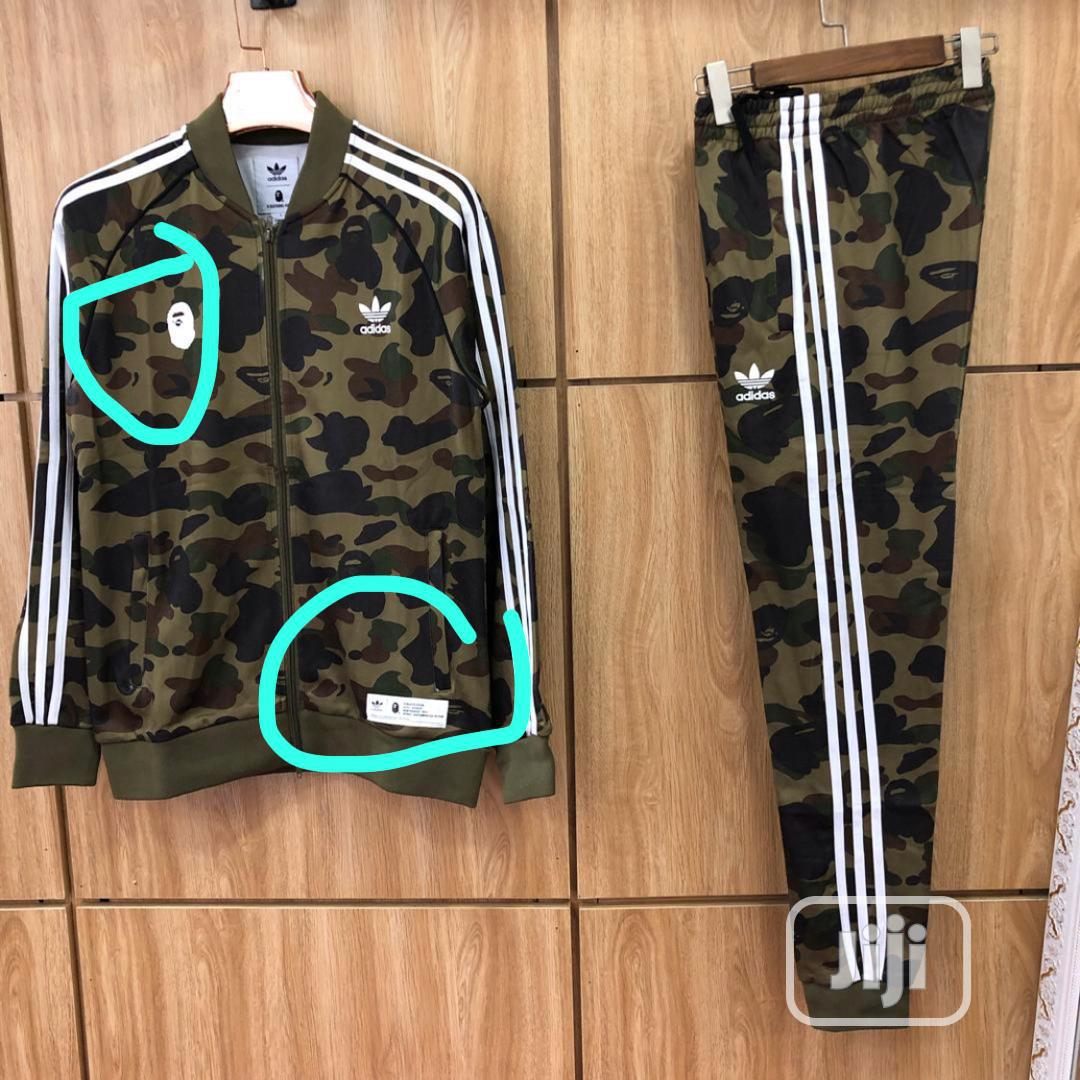 Adidas Camouflage Tracksuit