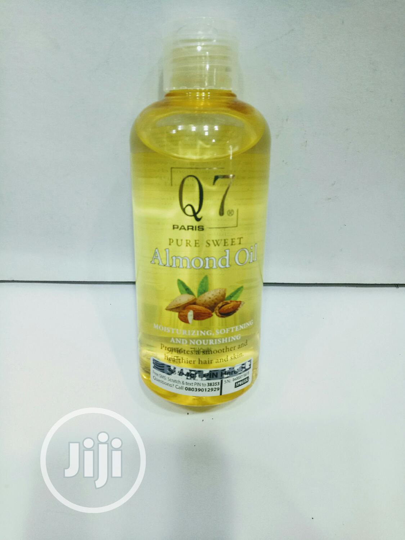 Q7 Almond Oil