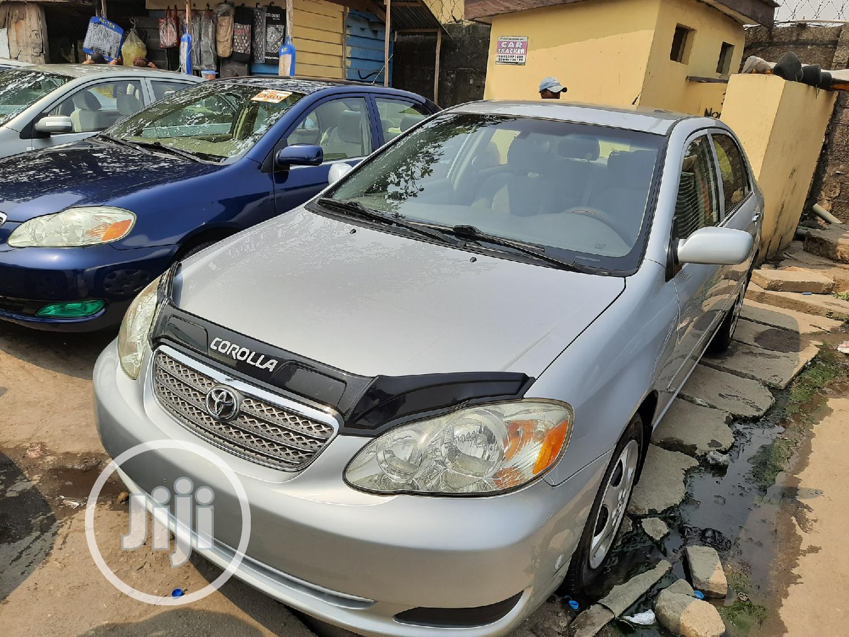 Toyota Corolla 2008 Silver | Cars for sale in Apapa, Lagos State, Nigeria