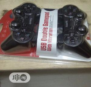 Havit USB Double Game Pad With Vibration   Accessories & Supplies for Electronics for sale in Lagos State, Ikeja