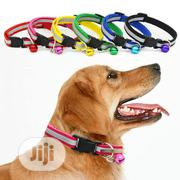Reflevtive Collar For Cat Puppy And Small Dogs With Bell | Pet's Accessories for sale in Lagos State, Ifako-Ijaiye