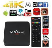 TV Box, Mxq PRO Quad-core 64-bit Uhd 4K Media Center Smart TV Box | TV & DVD Equipment for sale in Lagos State, Ikeja
