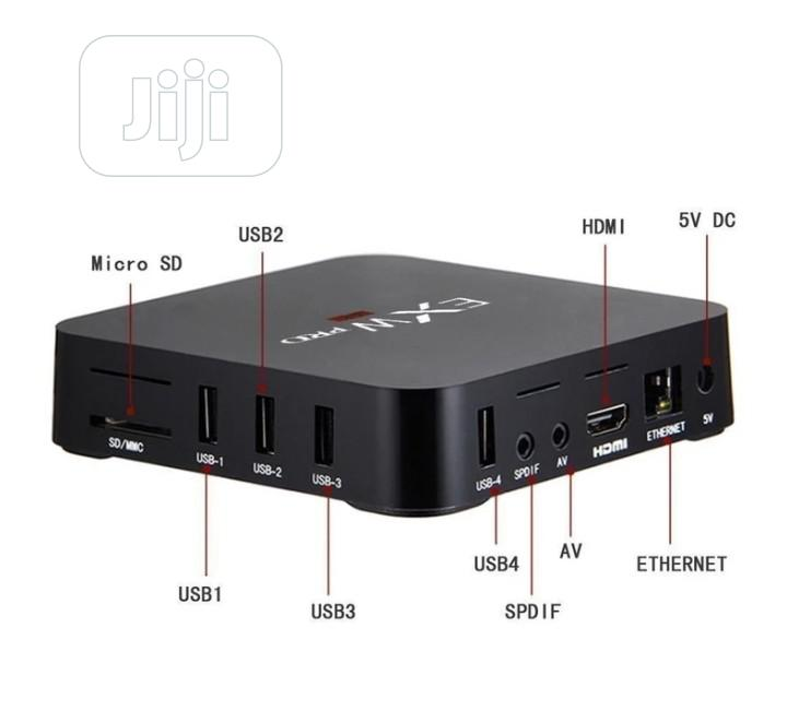 TV Box, Mxq PRO Quad-core 64-bit Uhd 4K Media Center Smart TV Box | TV & DVD Equipment for sale in Ikeja, Lagos State, Nigeria