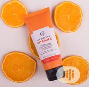 The Body Shop Vitamin C Glow Boosting Microdermabrasion Exfoliator | Vitamins & Supplements for sale in Lagos State, Lekki Phase 1