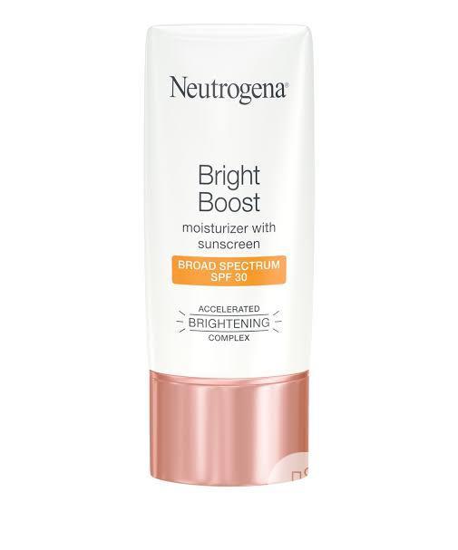 Archive: Neutrogena Bright Boosttm Facial Moisturizer With SPF 30