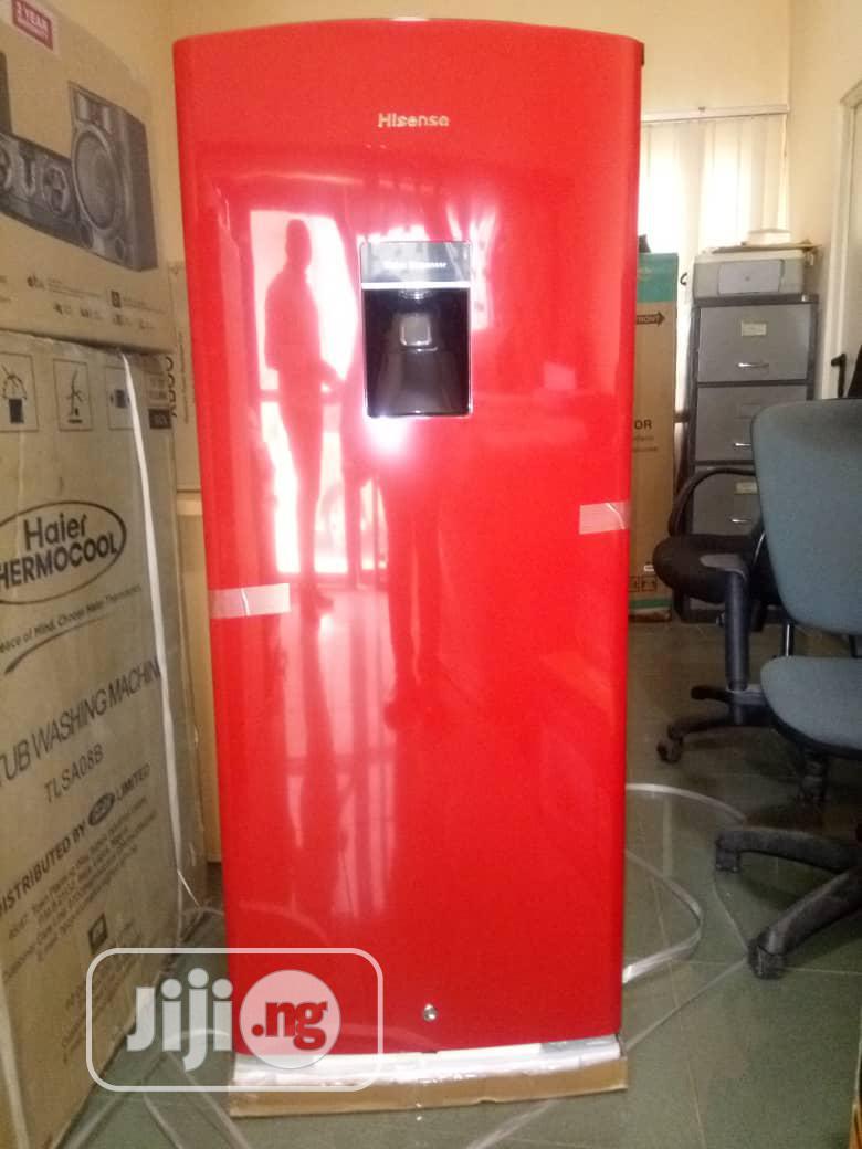 Archive: Hisense 176 Refrigerator + Dispenser-Ref 23rsdr-Wd