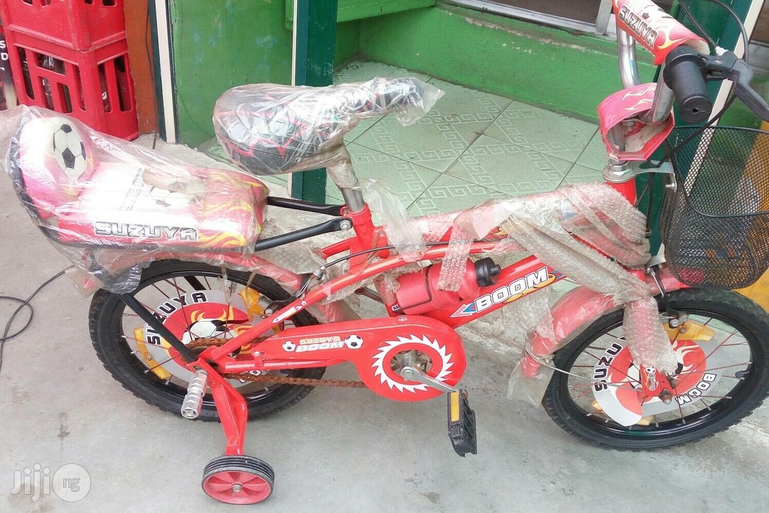 Size 16 Children Riding Bike