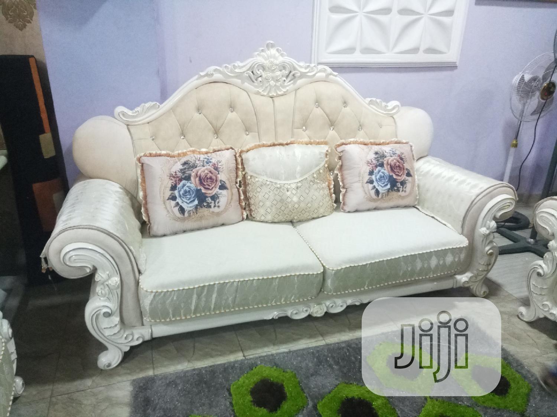 Executive Fabric Royal Sofa Settee
