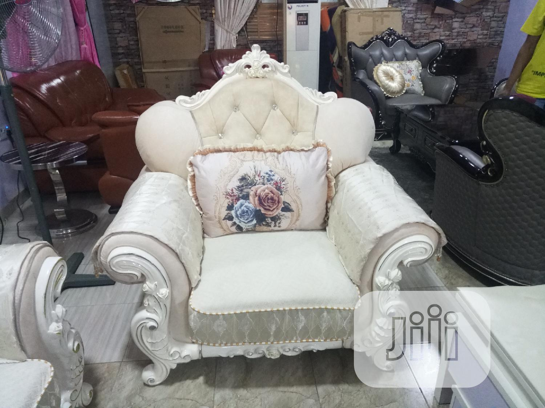 Executive Fabric Royal Sofa Settee   Furniture for sale in Ajah, Lagos State, Nigeria