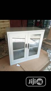 Quality Half Glass And Metal Cabinet | Furniture for sale in Lagos State, Ojo