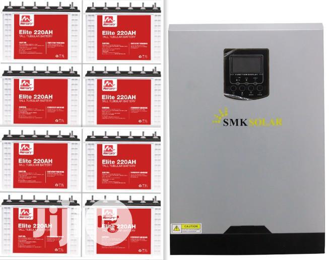 5kva Inverter Installation With 4 Tubular Batteries