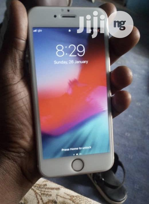 Apple iPhone 6s 32 GB Silver   Mobile Phones for sale in Ikeja, Lagos State, Nigeria