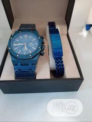 Audemars Piguet (AP) Blue Chain With Bracelet | Jewelry for sale in Lagos State, Agboyi/Ketu