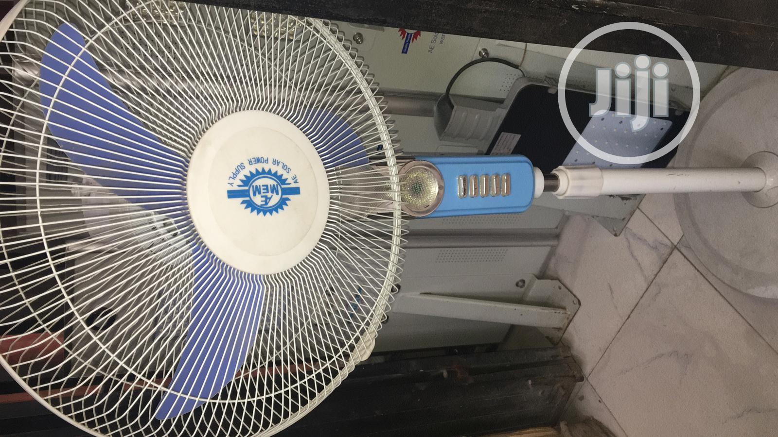 16inches DC Solar Standing Fan Available With 1yr Warranty   Solar Energy for sale in Ojo, Lagos State, Nigeria
