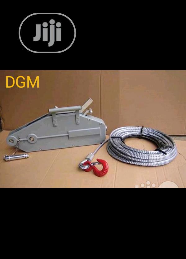 Tirfor Steel Wire Rope Hand Winch Hoist 1.6kg