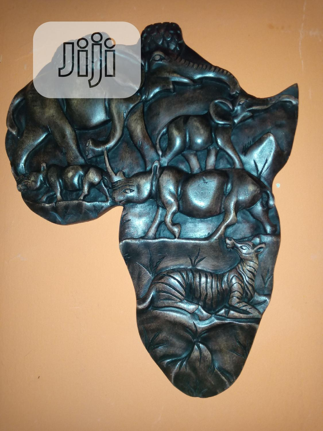 Africa Map/Wood Art Work | Arts & Crafts for sale in Surulere, Lagos State, Nigeria