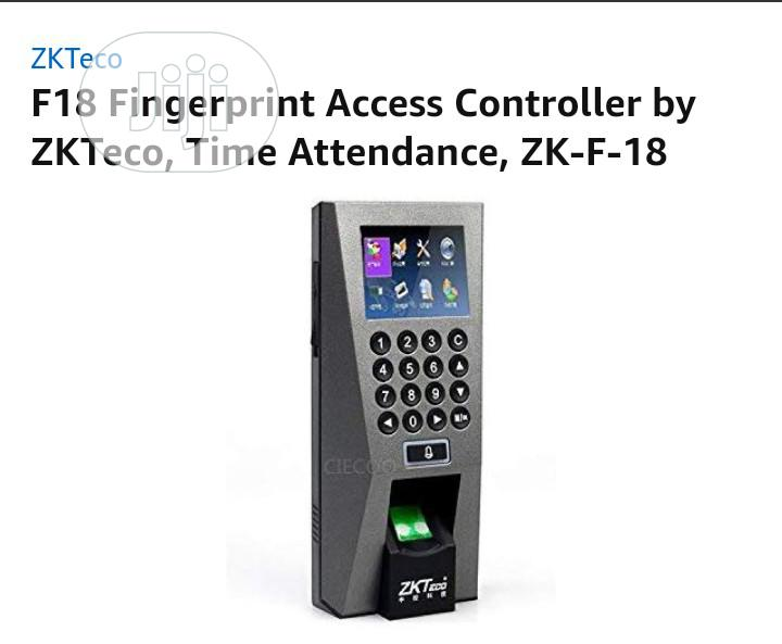 Zkteco F18 Access Control Biometric Fingerprint Device