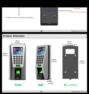 F18 Fingerprint Access Controller by Zkteco, Time Attendance | Computer Accessories  for sale in Lagos State, Ikeja
