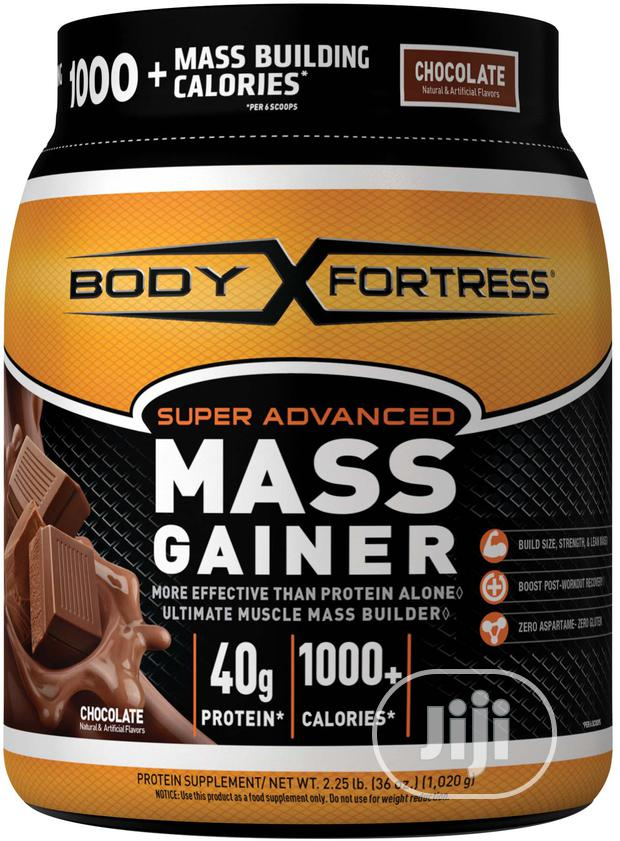Body Fortress® Super Advanced Mass Gainer, Chocolate, 2.25 LBS