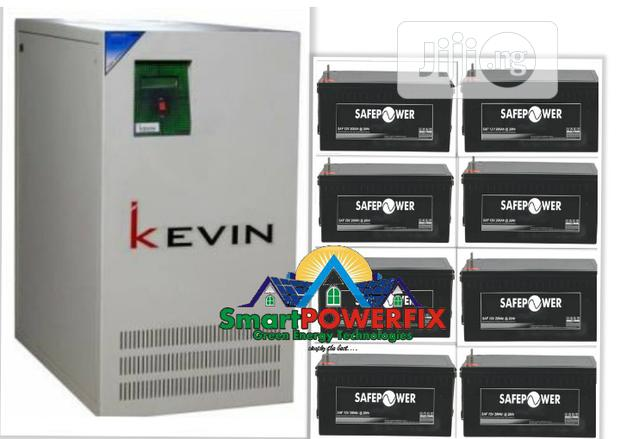 5kva Kevin Inverter With Safepower Batteries