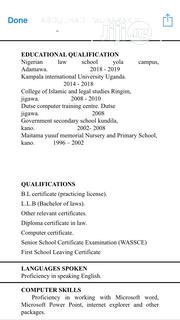 Recruitment | Legal CVs for sale in Abuja (FCT) State, Central Business Dis