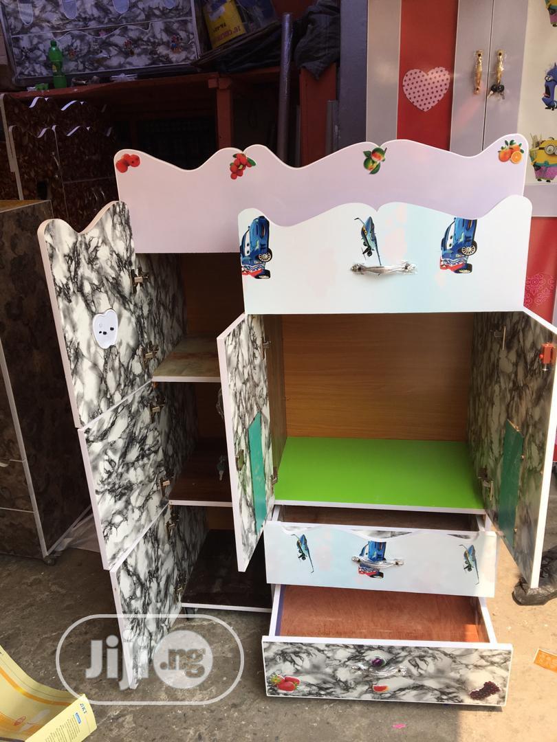 Baby Wooden Wardrobe | Children's Furniture for sale in Lagos Island (Eko), Lagos State, Nigeria