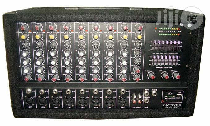 Archive: Brand New Mixer Amp/Powered Mixer