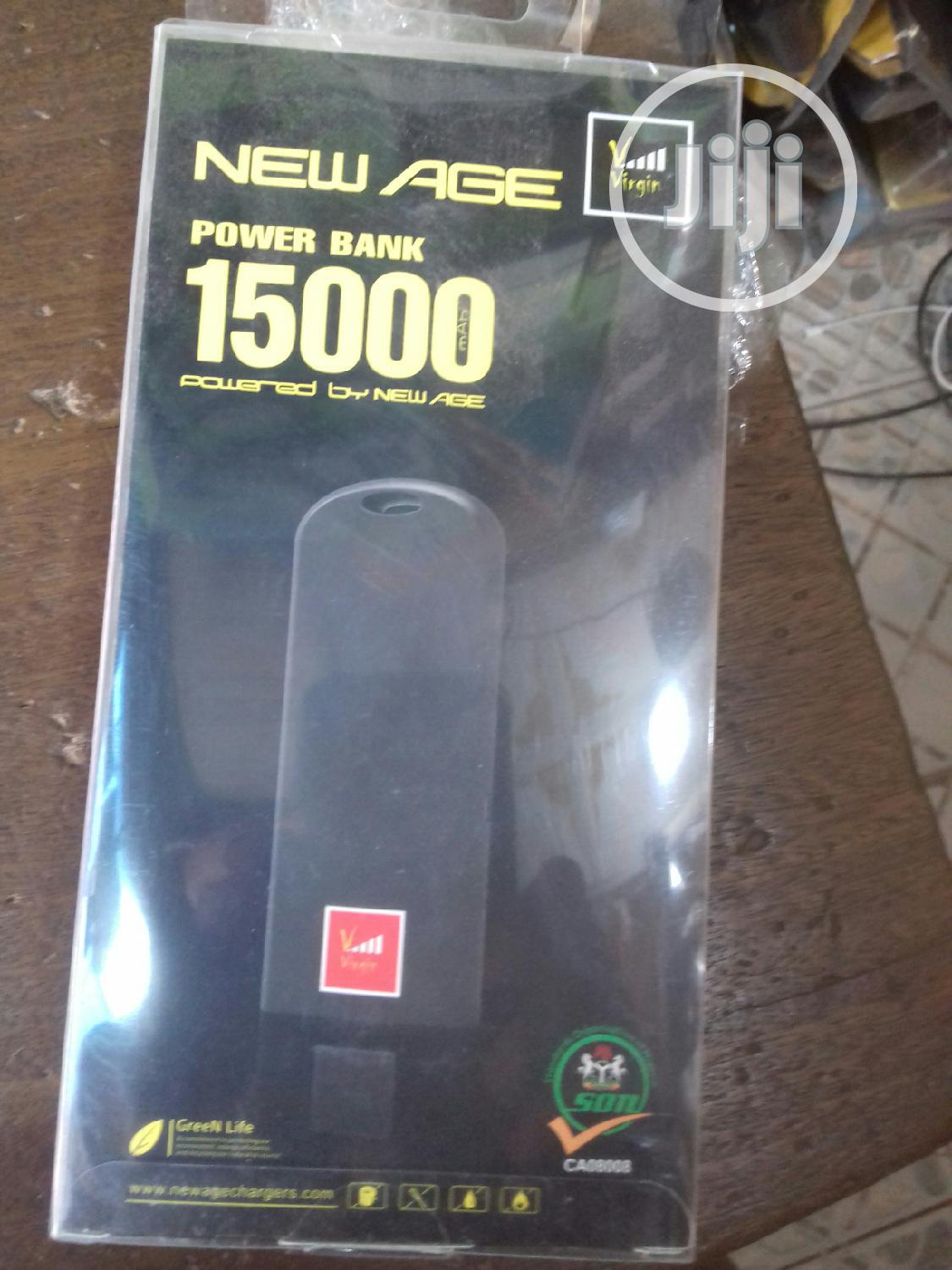 New Age Power Bank Virgin 15000 Mah   Accessories for Mobile Phones & Tablets for sale in Ikeja, Lagos State, Nigeria