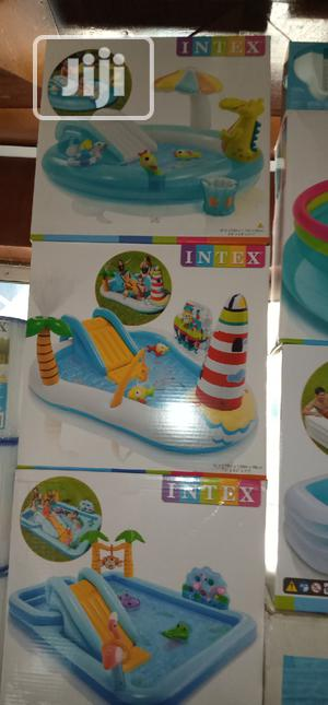 Fun Play With Slide Swimming Pool for Kids   Toys for sale in Lagos State, Surulere