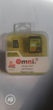 32GB Omni Antivirus Memory Card | Accessories for Mobile Phones & Tablets for sale in Lagos State, Gbagada
