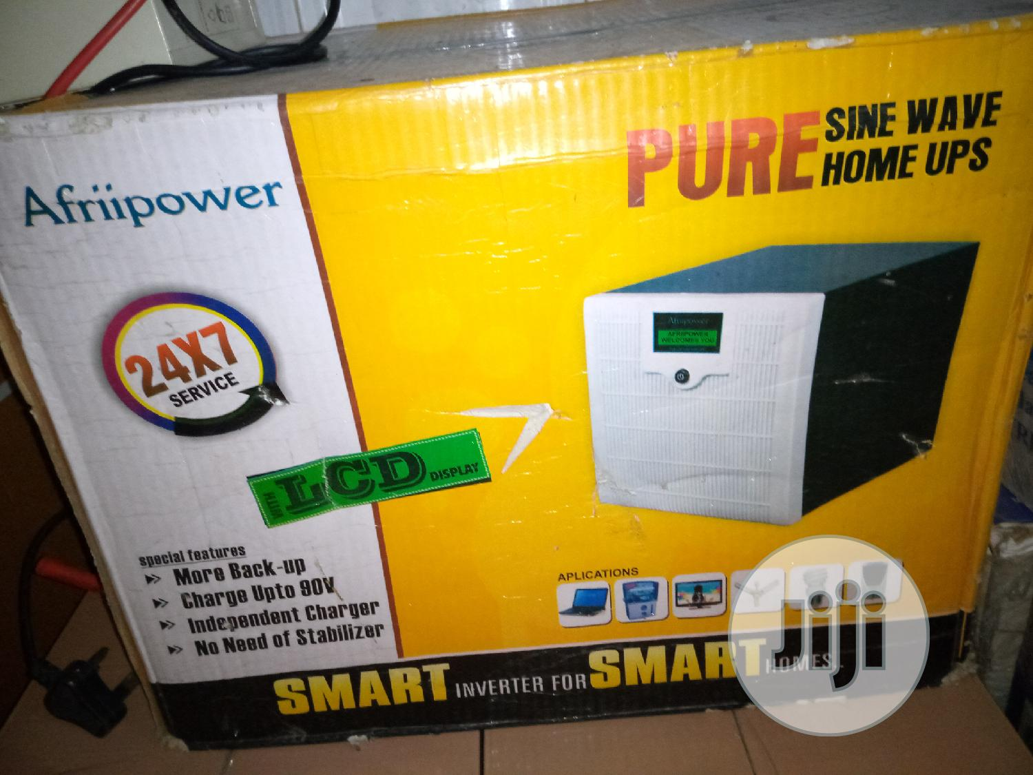 Archive: 1.7KVA, 24V Afriipower Pure Sine Wave Home UPS