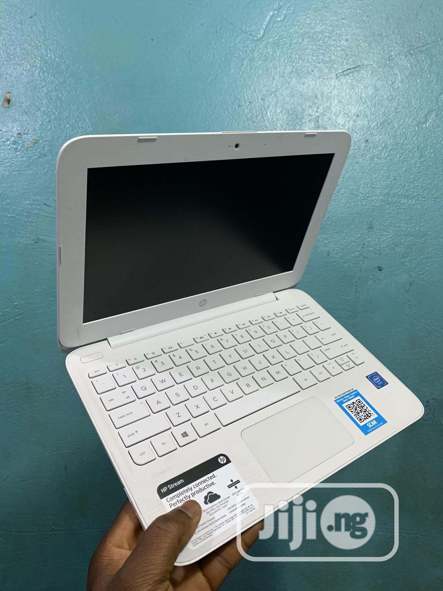 Laptop HP Stream 11 4GB Intel Celeron SSD 60GB | Laptops & Computers for sale in Ikeja, Lagos State, Nigeria