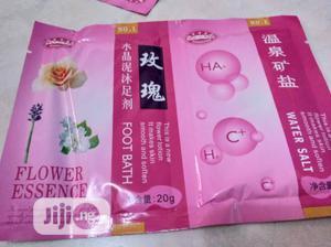 Flower Essence Jelly Pedicure Foot Soak | Bath & Body for sale in Lagos State, Amuwo-Odofin