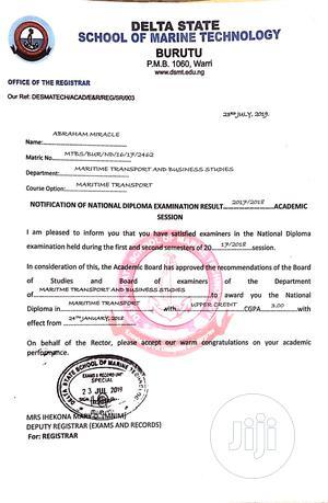 Logistic CV | Logistics & Transportation CVs for sale in Rivers State, Port-Harcourt