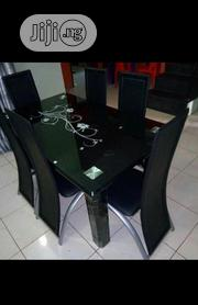 Set Of Dinning Chair And Dinning Table Glass | Furniture for sale in Lagos State, Ojo
