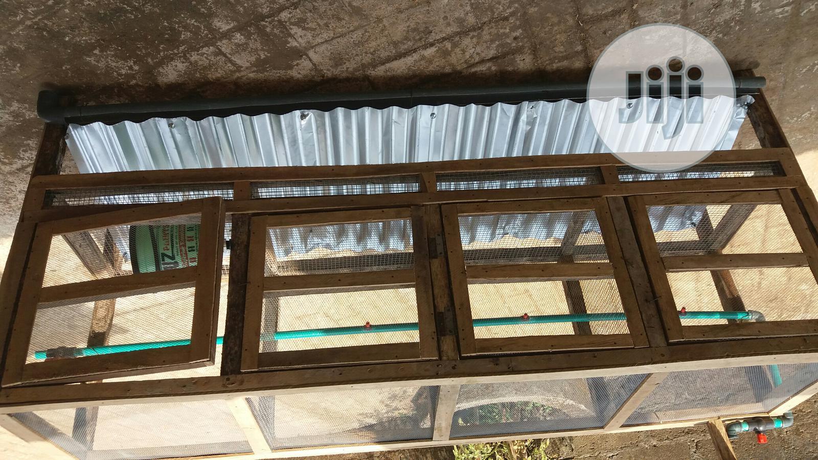 Bushmarket Rabbit Cage | Pet's Accessories for sale in Ikorodu, Lagos State, Nigeria