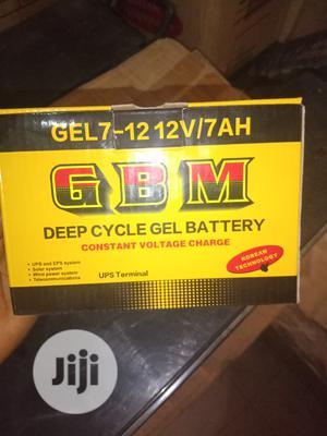 7ahs 12v GBM Solar Battery | Solar Energy for sale in Lagos State, Ojo