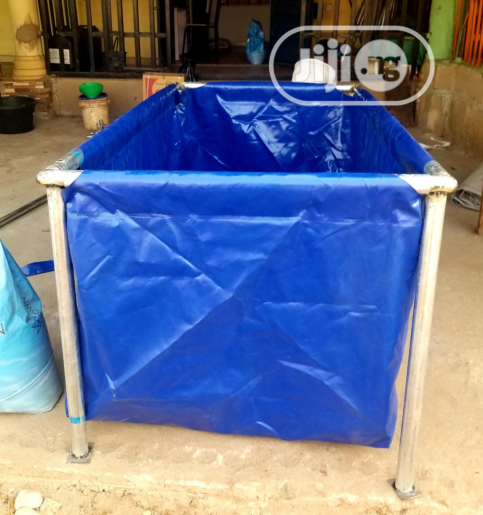Strong Tarpaulin Fish Pond