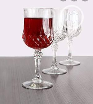 3pcs Quality Wine Glass Cup | Kitchen & Dining for sale in Lagos State, Lagos Island (Eko)