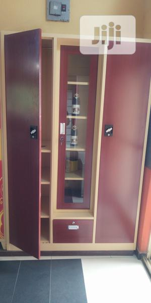 Metal Office Wardrobes With Mirrow | Furniture for sale in Lagos State, Victoria Island